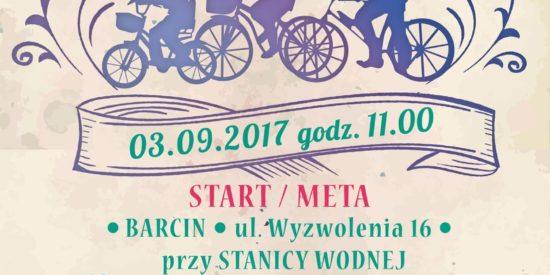 Już 1 maja 2017 ruszają zapisy na II Barciński Rodzinny Rajd Rowerowy!